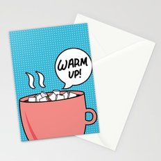 Warm Up! Stationery Cards