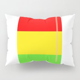 Popsicle colorful design Pillow Sham