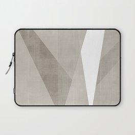 Desert Shadow   Abstract in Neutrals Laptop Sleeve