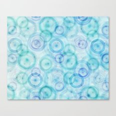 Spirograph pattern Canvas Print