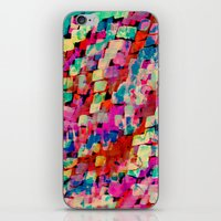 mineral iPhone & iPod Skins featuring Mineral by Amy Sia