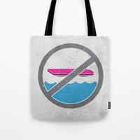 mcfly Tote Bags featuring MCFLY YOU BOZO color version by jerbing