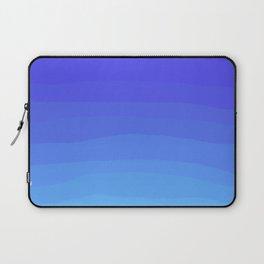 Cobalt Light Blue gradient Laptop Sleeve