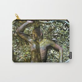 Gold Shadows Carry-All Pouch