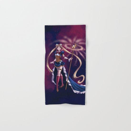 Steampunk Pretty Soldier Hand & Bath Towel