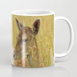 Deer in the park Coffee Mug