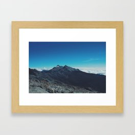 Top Country Framed Art Print