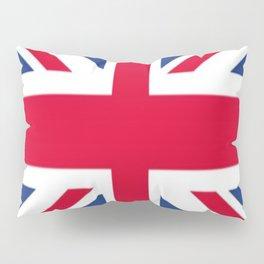 Union Jack 🇬🇧 Flag Of The United Kingdom ♚ Pillow Sham