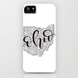 Ohio Love iPhone Case