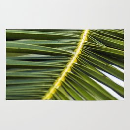 Green Palm-Leafes of Sicily Rug