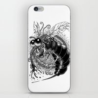 bug iPhone & iPod Skins featuring BUG! by PRESTOONS / Art by Dennis Preston