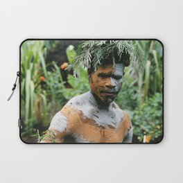 Papua New Guinea Villager Laptop Sleeve