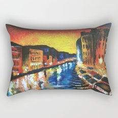 Harlem, Clearly Rectangular Pillow