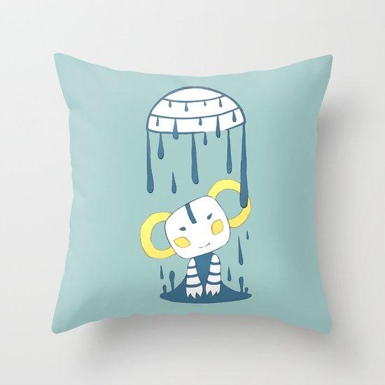 Melting Throw Pillow