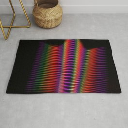 Light in motion two Rug