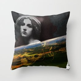 person place thing 1 Throw Pillow