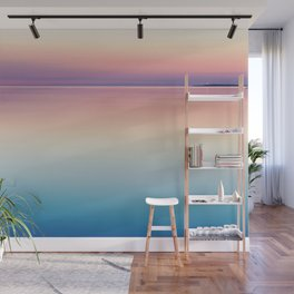 Color Layers Sunrise Sea Wall Mural