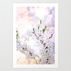Water-colour Spring #4 Art Print