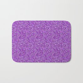 Purple Moondust Glitter Pattern Bath Mat