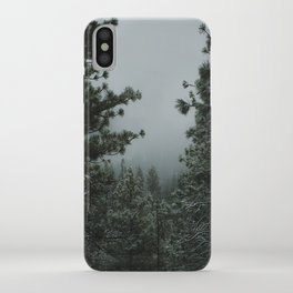 Backwoods Winter: Ponderosa Pines, Washington iPhone Case