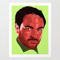 crowley Art Prints featuring Crowley Vector by Evelyn Denise