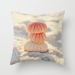 Sea Urchins Throw Pillow