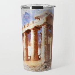 Acropolis Of Athens Travel Mug