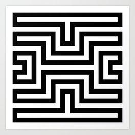 Diamond - Optical Illusion Art Print
