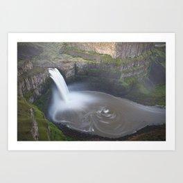 Palouse Falls at Sunrise Art Print