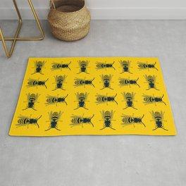 Bee's Yellow Rug