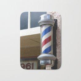 Barber Sign Bath Mat