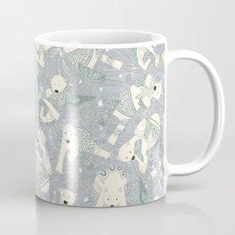 arctic polar bears silver Coffee Mug