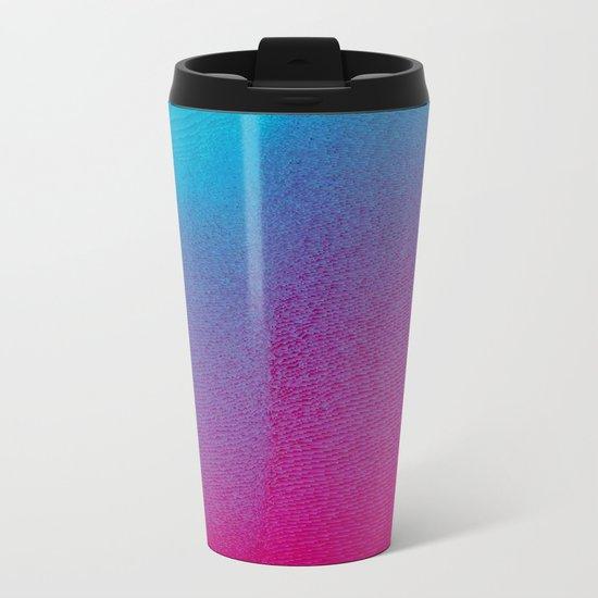 Pink Haze Metal Travel Mug