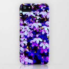All Over Flowers iPhone Case
