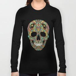 Ethno skull Long Sleeve T-shirt