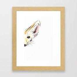 Fennec Framed Art Print