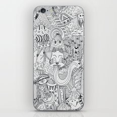 Monsters In My Closet iPhone & iPod Skin
