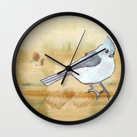 inspiration Wall Clocks featuring Inspiration by Tammy Kushnir