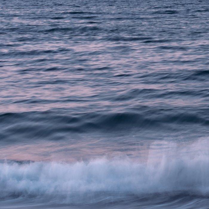 Pastel beach sunset Leggings