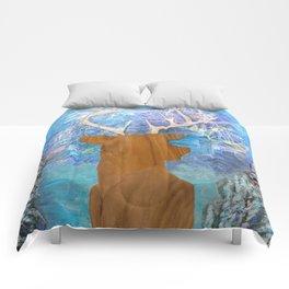just heavenly, deer Comforters