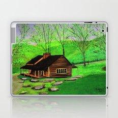 Hillside cabin Laptop & iPad Skin