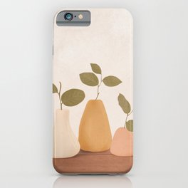 Three Little Branches iPhone Case