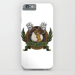 Only Hustlin - Business Kaching Entrepreneur iPhone Case