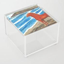 The Red Stallion Acrylic Box