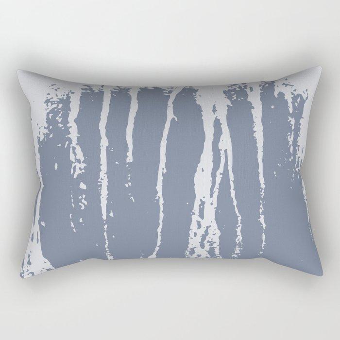 Scratched Paint Rectangular Pillow