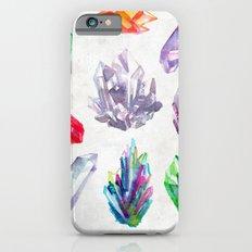 Watercolor Crystals Slim Case iPhone 6s
