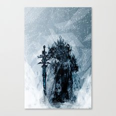 A Frosty King Canvas Print