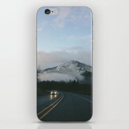 Evening Drives in the Columbia River Gorge iPhone Skin