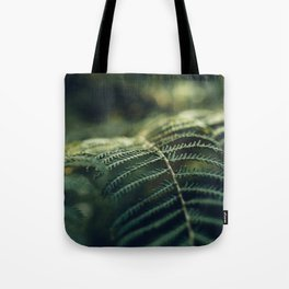 Green and Golden Tote Bag