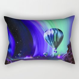 NASA Space Jupiter Planet Retro Poster Futuristic Best Quality Rectangular Pillow